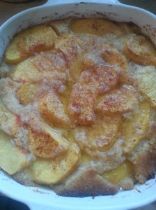 Simply DeliciousFresh Peach Cobbler
